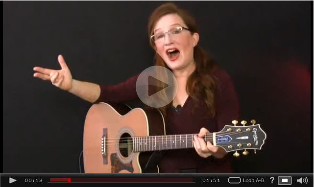 Guitar Tricks - Lisa's Acoustic Lessons