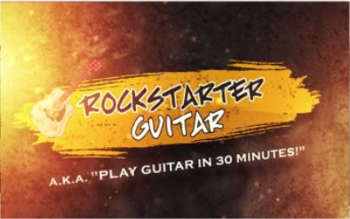 Review of The Band - Rockstarter 30 Minute Guitar Course