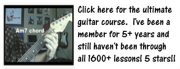 Click here for the ultimate guitar course.  I've been a member for 5+ years and still haven't been through all 1600+ lessons! 5 Stars!